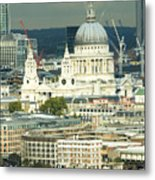 Grand View Of Central London Metal Print