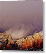 Grand View Of Sedona,arizona Metal Print