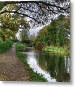 Grand Western Canal At Crown Hill Metal Print