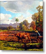 Grandfather Farm Metal Print