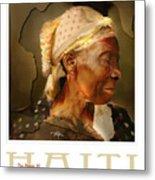 grandma - the people of Haiti series poster Metal Print