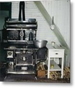 Grandma's Kitchen Metal Print by Shirley Sirois