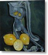 Grandma's Lemons Metal Print