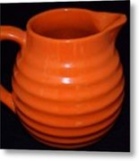 Grandmas Orange Juice Pitcher Metal Print