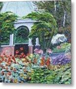 Grandmother's Garden Flowers Metal Print