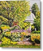 Grandmother's Garden Metal Print