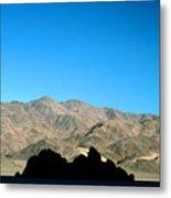 Grandstand At Racetrack Playa Death Valley Metal Print