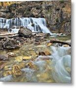 Granite Falls Metal Print
