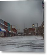 Granite Falls Snow Metal Print