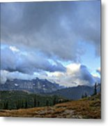 Granite Park Chalet - Glacier National Park Metal Print