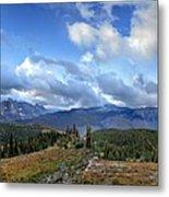 Granite Park - Glacier National Park Metal Print