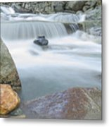 Granite Pool Metal Print