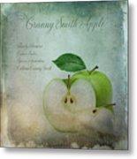 Granny Smith Metal Print