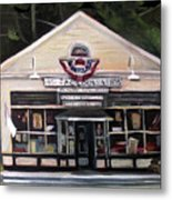 Granville Country Store Front View Metal Print