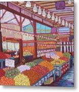 Granville Island Market Bc Metal Print