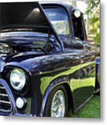 Grape Fully Blown Pickup Metal Print