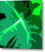Grape Leaves Metal Print