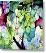 Grapes II Metal Print