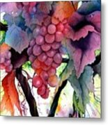 Grapes IIi Metal Print
