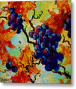 Grapes Mini Metal Print