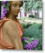 Grapes Of The Garden Metal Print