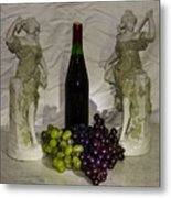 Grapes Metal Print