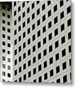 Graphic Construction Metal Print