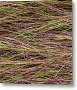 Grassy Abstract Metal Print