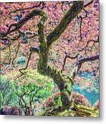 Gratitude Tree Metal Print