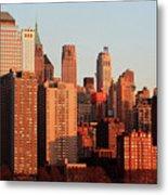 Gratte Ciel Manhattan Usa Metal Print