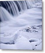 Graue Mills Falls Metal Print