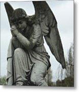 Grave Angel Metal Print