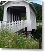 Grave Creek Bridge Metal Print