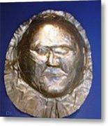 Grave Mask Metal Print