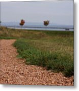 Gravel Path Metal Print