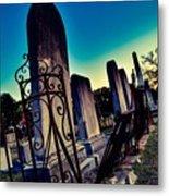 Gravesite Metal Print