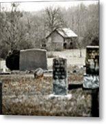 Graveyard Barn Metal Print
