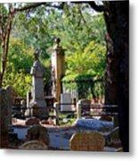 Graveyard In Charleston Metal Print