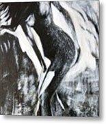 Gray Desert Metal Print