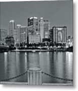 Grayscale By The River 2017 Metal Print