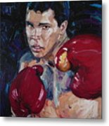 Great Ali Metal Print