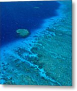 Great Barrier Reef Metal Print