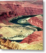 Great Color Colorado River Metal Print