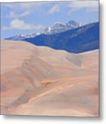 Great Colorado Sand Dunes Metal Print