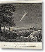 Great Comet Of 1811 Metal Print