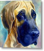 Great Dane Pup Metal Print