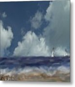 Great Day For Sailing Metal Print