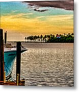 Great Day To Fish Metal Print