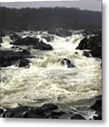 Great Falls Potomac River Maryland Metal Print