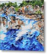 Great Falls Waterfall 201826 Metal Print
